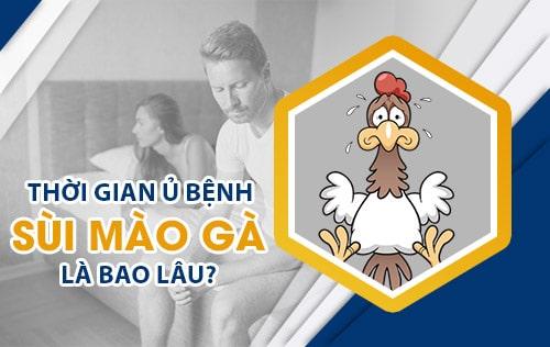 Thời gian ủ bệnh sùi mào gà là bao lâu? Biểu hiện sùi mào gà thời kỳ ủ bệnh